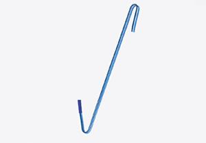 S-krok, som normalt fästs i båtens akter.