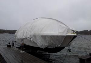 Stormsäker täckning, Sjösala